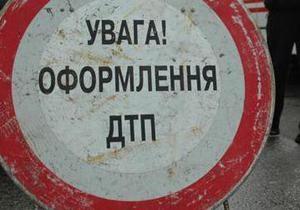 В Киеве водитель сбил сотрудника ГАИ и скрылся с места ДТП
