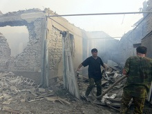 РИА Новости: На окраине Цхинвали слышна стрельба