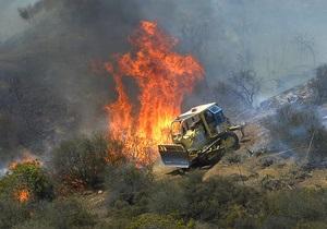 Масштабы пожаров в Калифорнии разрастаются. Эвакуированы тысячи человек