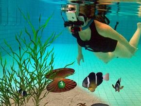 В Германии появился первый в мире бассейн с виртуальной реальностью