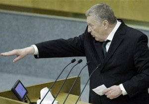 Жириновский считает ошибкой присоединение Западной Украины к СССР в 1939 году