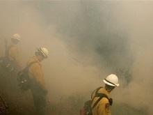 Калифорния: густой дым надвигается на города