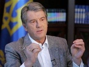 Ющенко убежден, что Россия стремится изменить статус украинской ГТС