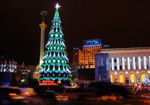 Фотогалерея: Украина, с наступающим! Как зажигали главную елку страны
