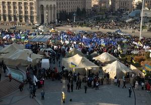 Милиция просит СМИ предоставить видеозапись того, как на Майдане устанавливали палатки