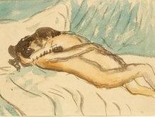 Найден автопортрет обнаженного Пикассо с любовницей