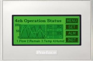 Компания Pro-face анонсирует новую серию компактных операторских панелей GP4100