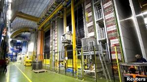 Ученые надеются увидеть бозон Хиггса на следующей неделе