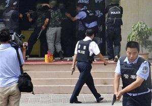 В Китае преступники с ножами зарезали семерых человек
