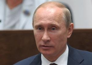 Путин поздравил Януковича с Днем Независимости