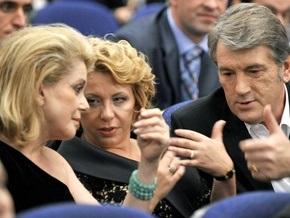 Фотогалерея: Катрин Денев, Виктор Ющенко и Молодость