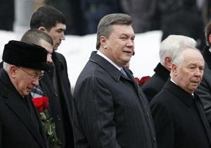 Янукович призвал политиков отказаться от собственных амбиций