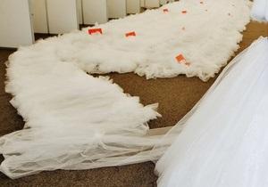 Житель Полтавской области украл свадебное платье вместе с манекеном, чтобы признаться в любви