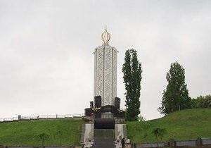 Из-за ливня в Киеве затопило музей памяти жертв Голодомора