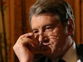 Ющенко изучает закон о повышении соцстандартов - СП