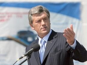Ющенко в Борисполе обсудит ситуацию с курсом гривны
