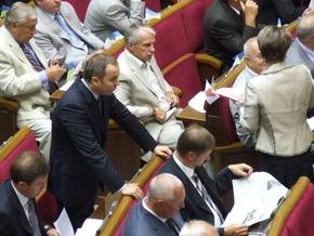 Рада приняла закон об уменьшении влияния кризиса на сферу занятости населения