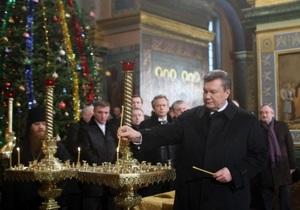 Наместник Почаевской лавры пожелал Президенту мудро руководить народом