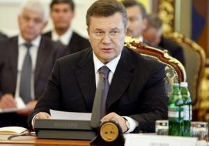 Янукович выразил неподдельный интерес к Сингапуру