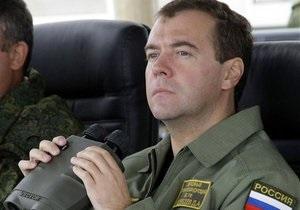 Медведев потребовал сократить число военнослужащих до миллиона человек