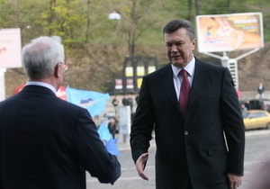 Янукович развивает Крым: Президент раздал поручения премьеру и главе Совмина АРК