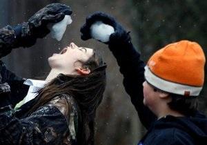 В Лейпциге игра в снежки переросла в массовую драку