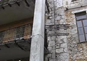 новости Крыма - Симеиз - санаторий Юность - обрушился балкон - Минздрав - Минздрав направил комиссию для расследования инцидента в санатории Симеиза