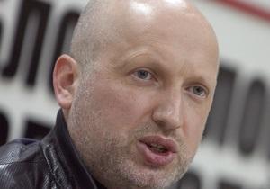 Турчинов о деле Щербаня: Цель власти - заставить мир отказаться от поддержки украинской оппозиции