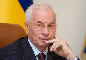 Азаров отреагировал на массовые акции протеста предпринимателей