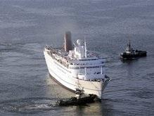На борту лайнера, севшего на мель у берегов Латвии, находятся 68 украинцев