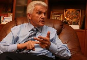 Литвин выступил за разработку директив по освещению позиции Украины за границей