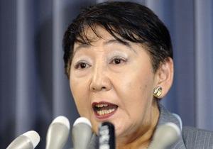 Японский министр присутствовала на казни двоих преступников