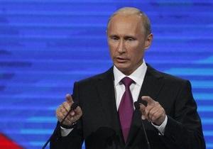 Путин: Нам не нужны великие потрясения, нам нужна великая Россия