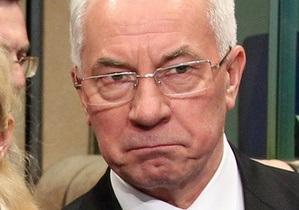 Партия регионов просит не  дергать  Азарова по каждому поводу