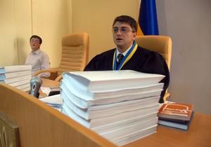 Суд опять отказал Тимошенко в отводе судьи