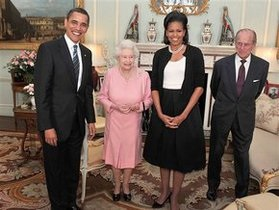 Елизавета II пригласила Обаму в Великобританию