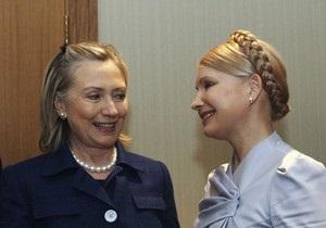 Клинтон приписали слова о том, что судебный процесс над Тимошенко - политический