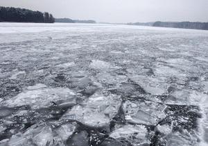 В Одесской области на реке найден вмерзший в лед труп