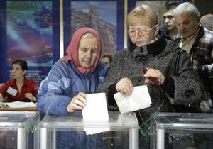 Оппозиция инициирует повторные выборы депутатов Рады в пяти мажоритарных округах