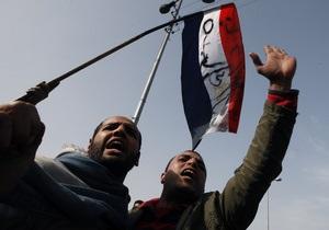 Египетская оппозиция начала акцию Пятница отставки