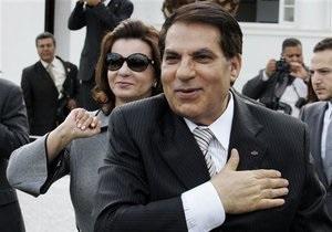 Саудовская Аравия предоставила бежавшему президенту Туниса бывший королевский дворец