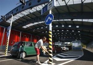 Поток людей, пересекающий украинскую границу, достиг показателей в дни Евро-2012