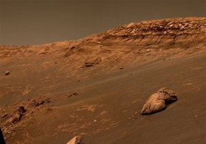 Поверхность Марса более 3 млрд лет назад покрывал океан