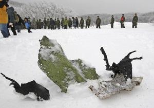 В Южной Корее нашли обломки разбившихся истребителей