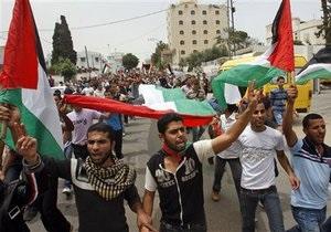 В секторе Газа и на Западном берегу празднуют межпалестинское примирение