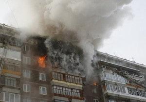 В России произошел взрыв в жилом доме