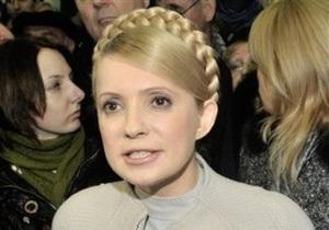 Тимошенко просит запретить инаугурацию Януковича до рассмотрения ее жалобы