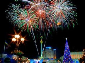 Новогодний фейерверк на Майдане Незалежности продлится 20 минут 9 секунд