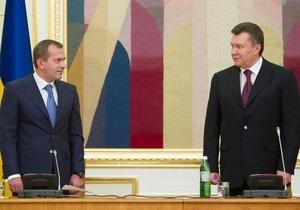 Янукович: Клюев не будет возглавлять предвыборный штаб Партии регионов