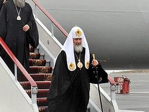 Патриарх Кирилл прилетел в Симферополь
